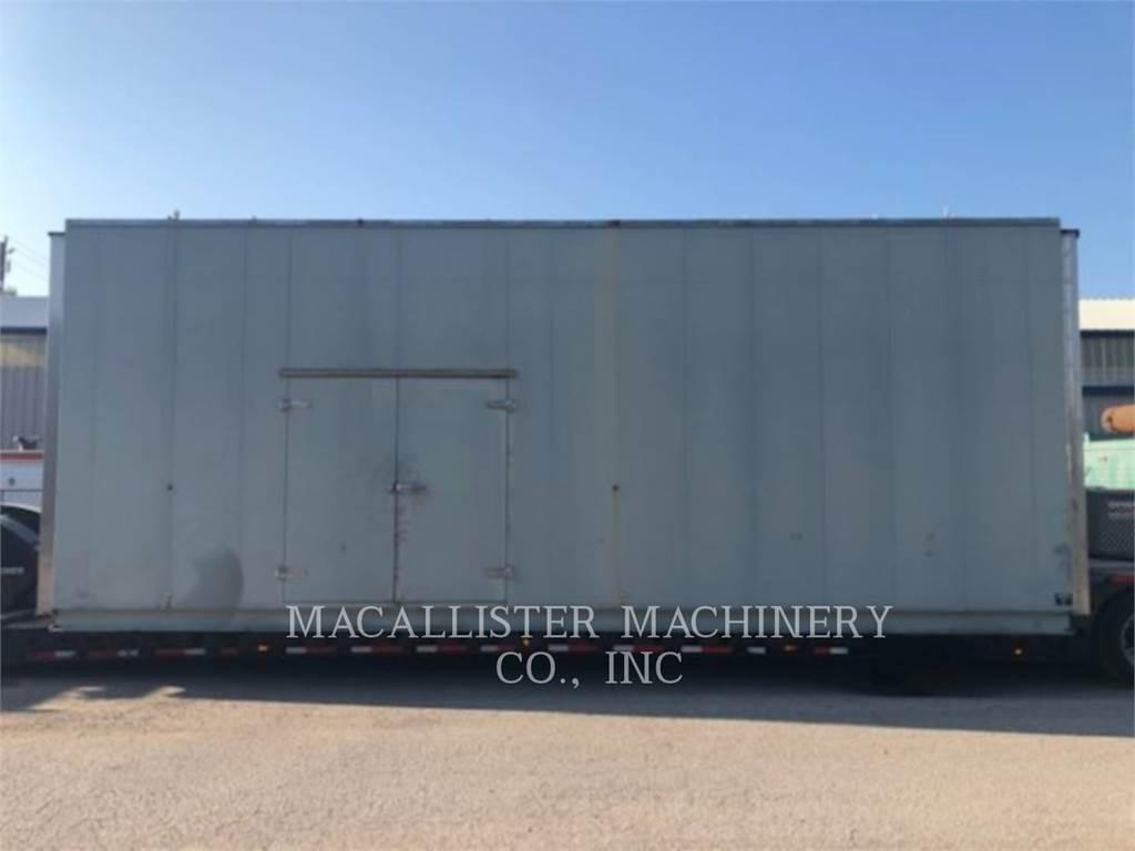 Caterpillar 3512B, Stationary Generator Sets, Construction