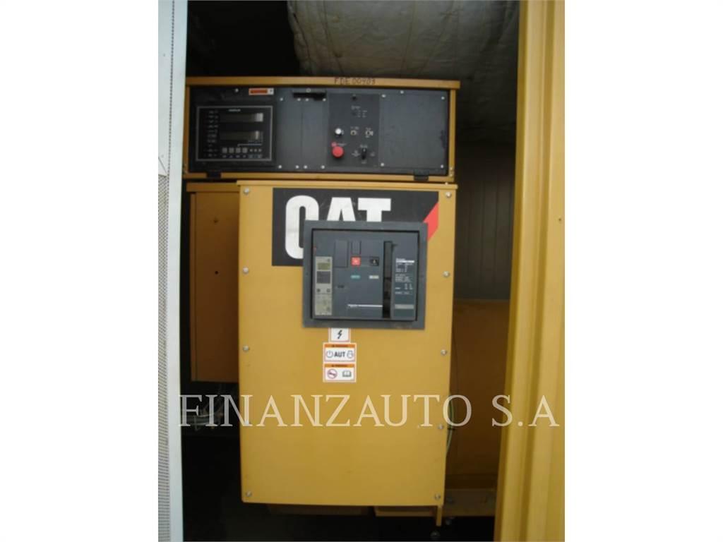 Caterpillar 3512B, mobile generator sets, Construction