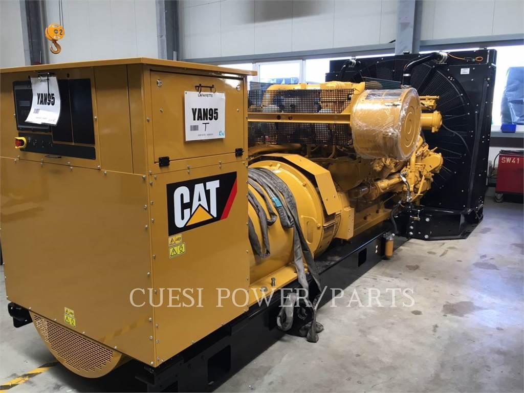 Caterpillar 3512B HD, Stacjonarne Zestawy Generatorów, Sprzęt budowlany