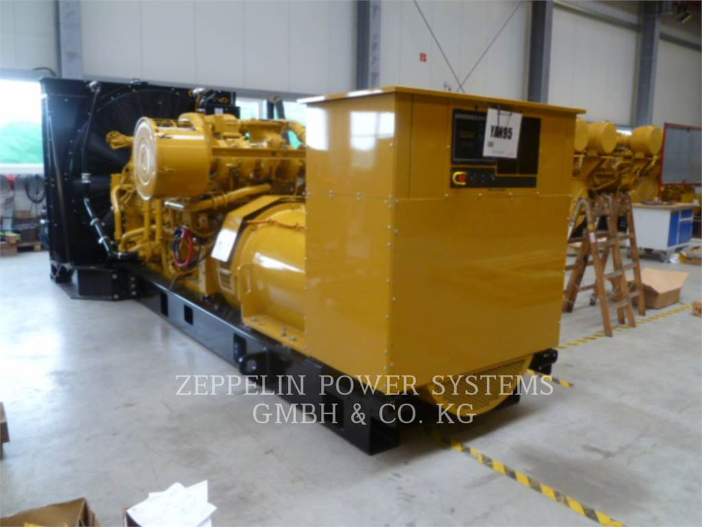 Caterpillar 3512BHD, Stationary Generator Sets, Construction