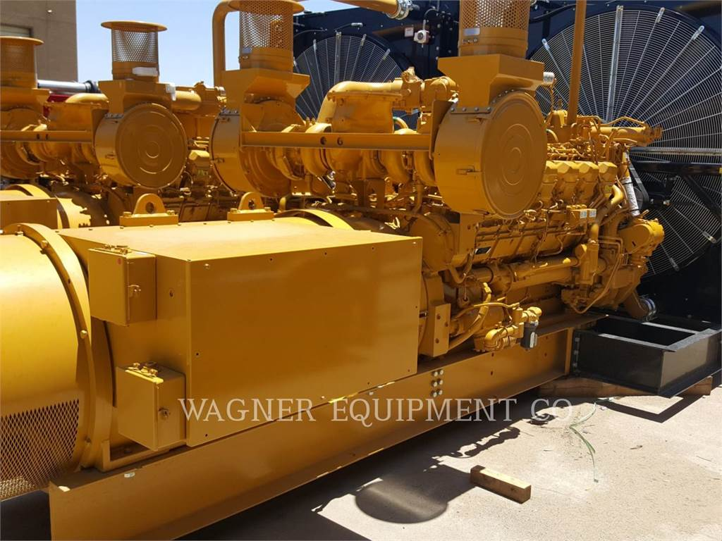 Caterpillar 3512C, Stationary Generator Sets, Construction