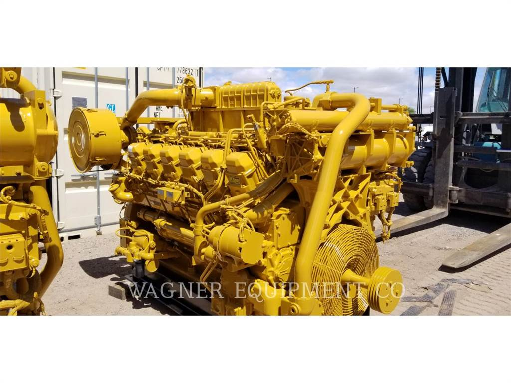 Caterpillar 3512C HD, Industrial engines, Constructii