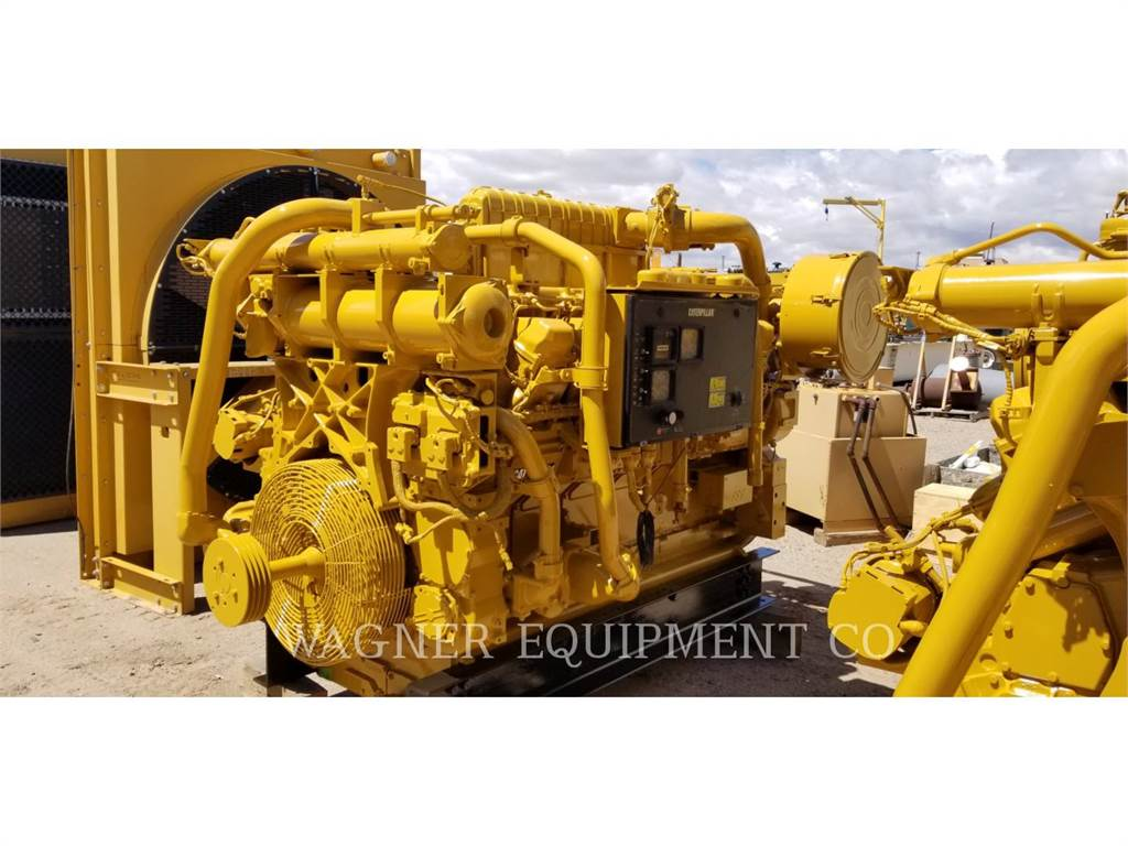 Caterpillar 3512C HD, Industrial engines, Construction