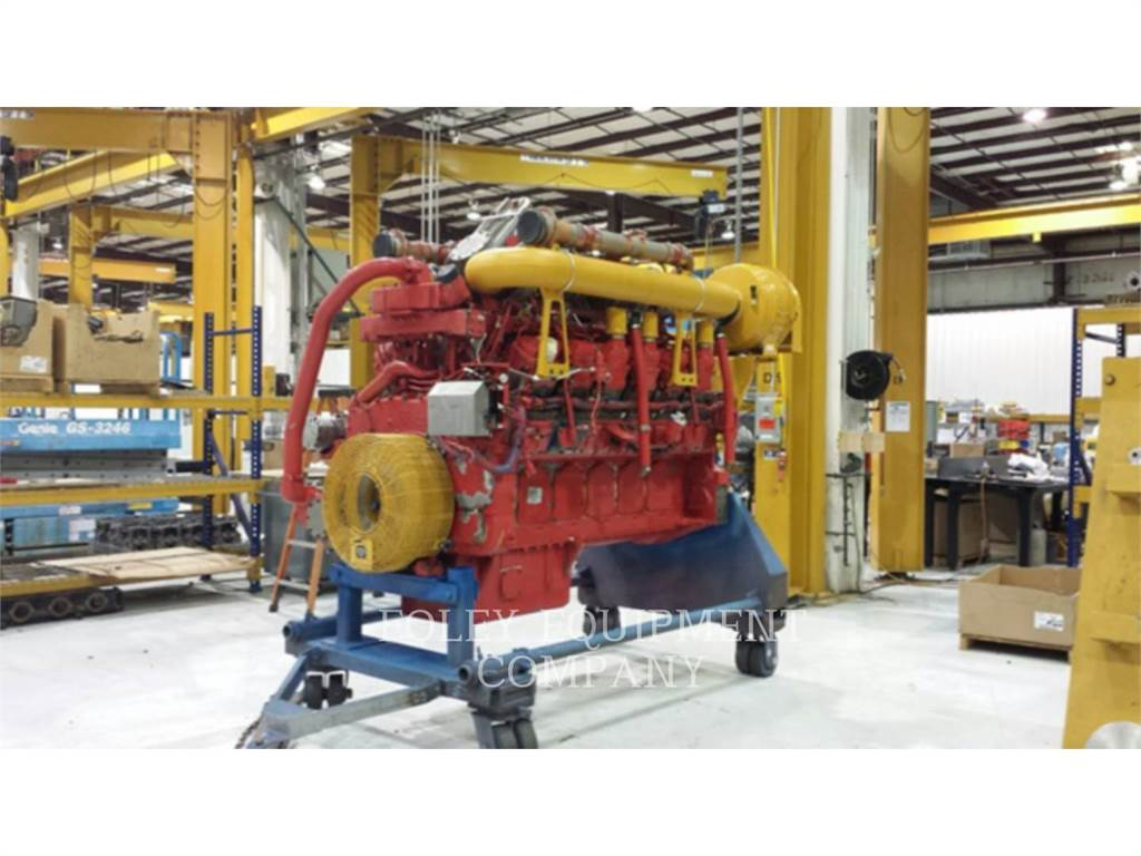 Caterpillar 3512CIN, Industriële motoren, Bouw