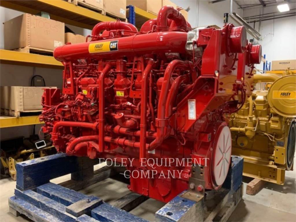 Caterpillar 3512CIN, Industrial engines, Construction