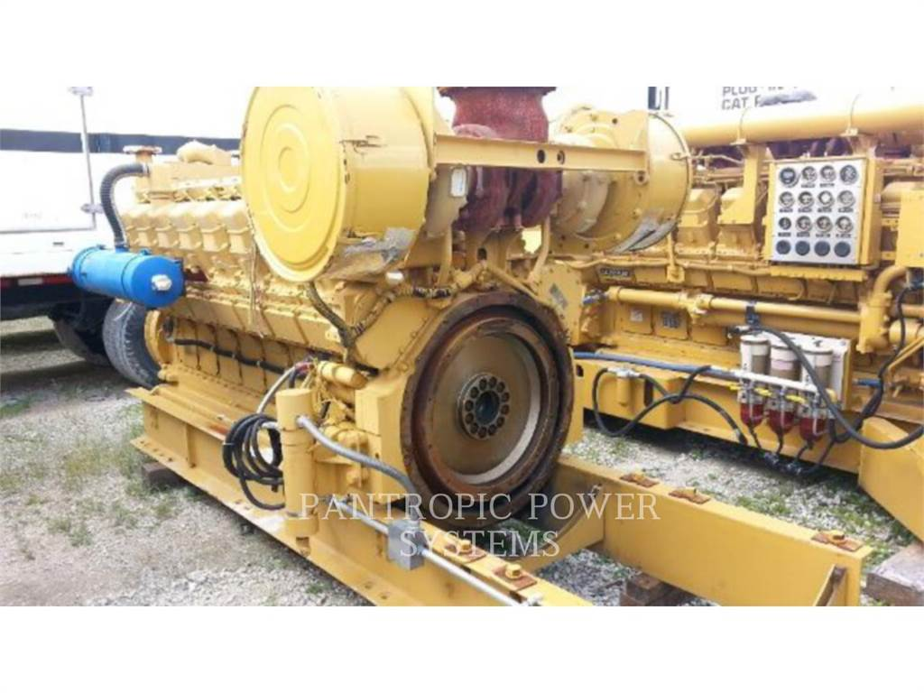 Caterpillar 3516, Stationary Generator Sets, Construction