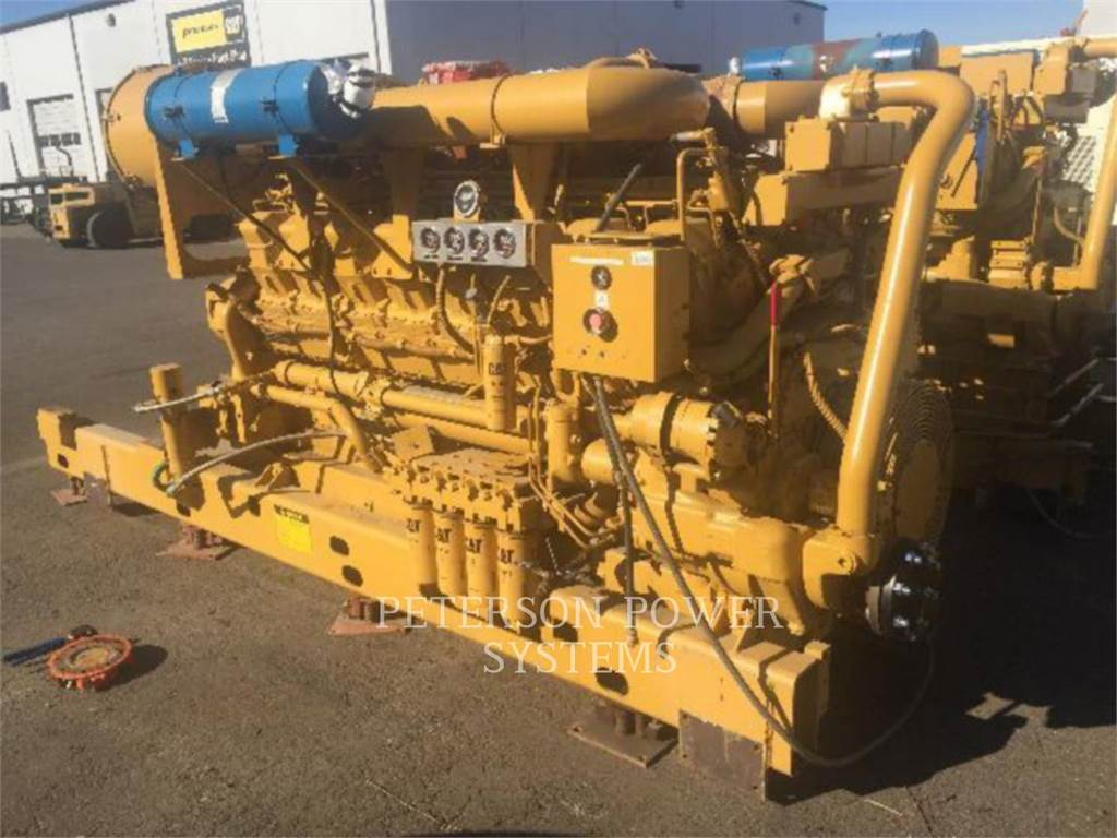Caterpillar 3516、柴油发电机组、建筑设备