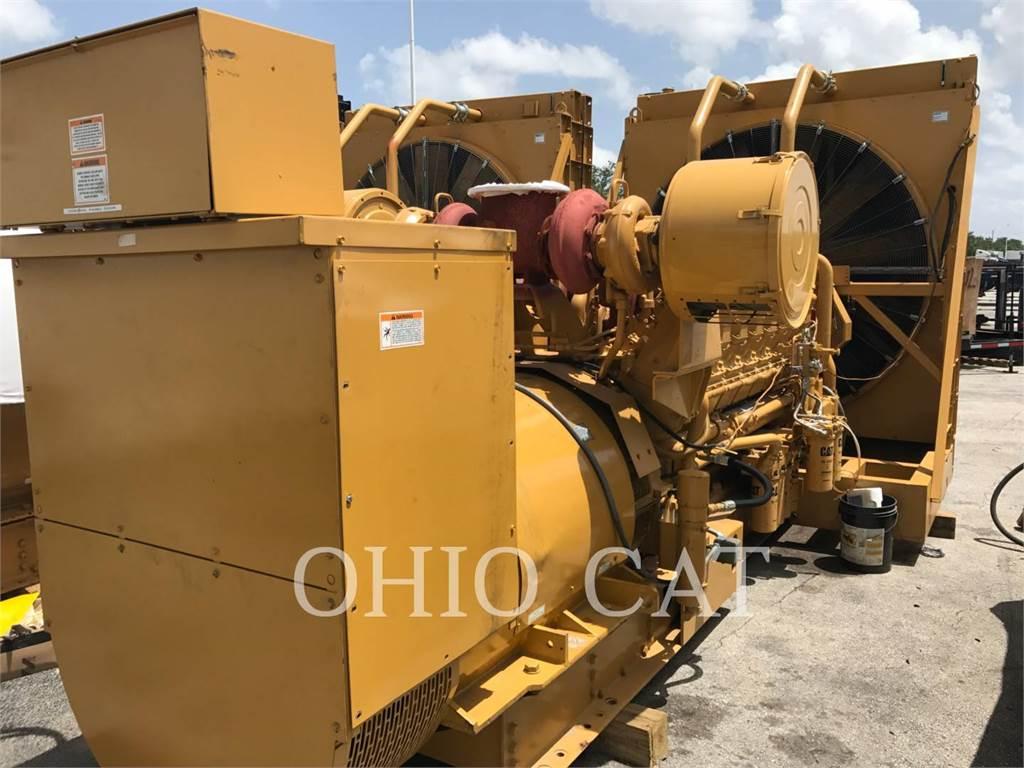 Caterpillar 3516, стационарные генераторные установки, Строительное