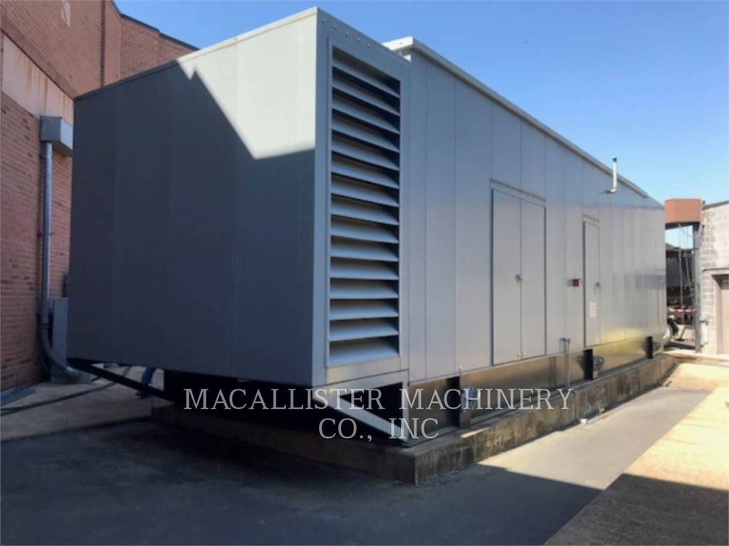 Caterpillar 3516, Stationary Generator Sets, Construction