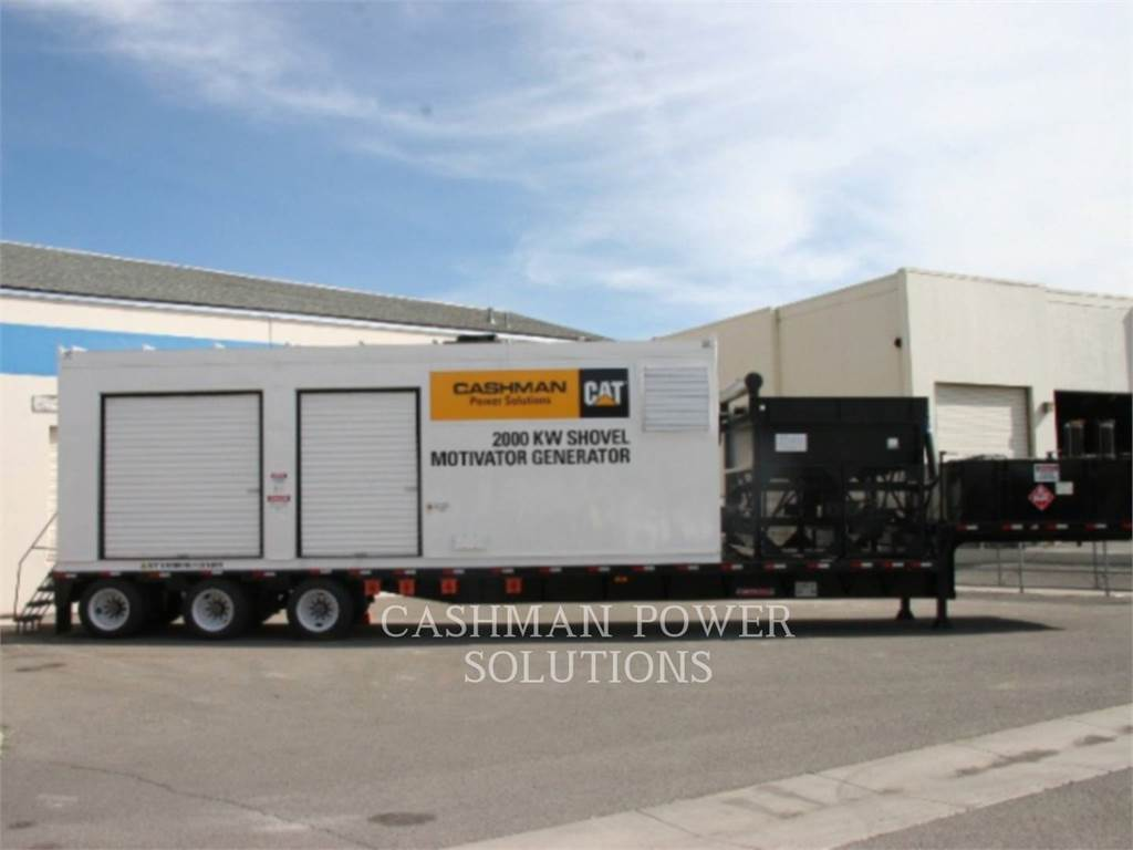Caterpillar 3516, mobile generator sets, Construction