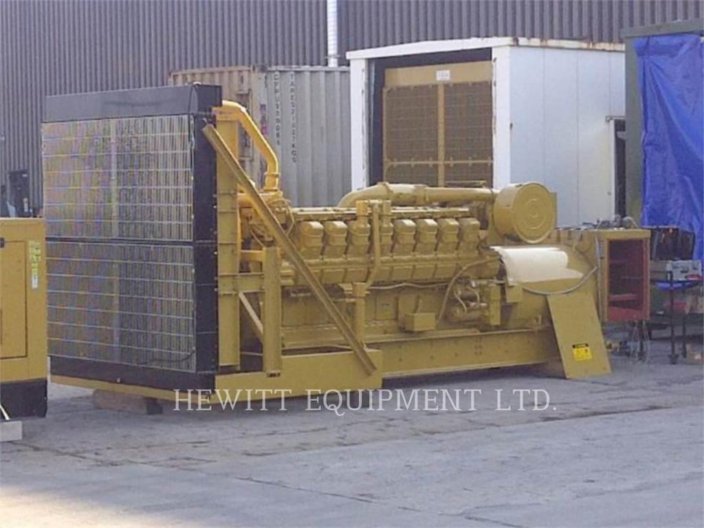 Caterpillar 3516_, 1400KW_ 4160 VOLTS, стационарные генераторные установки, Строительное