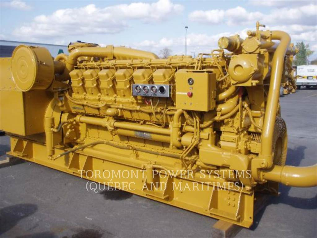 Caterpillar 3516_ 1500KW_ 4160V, Stationary Generator Sets, Construction