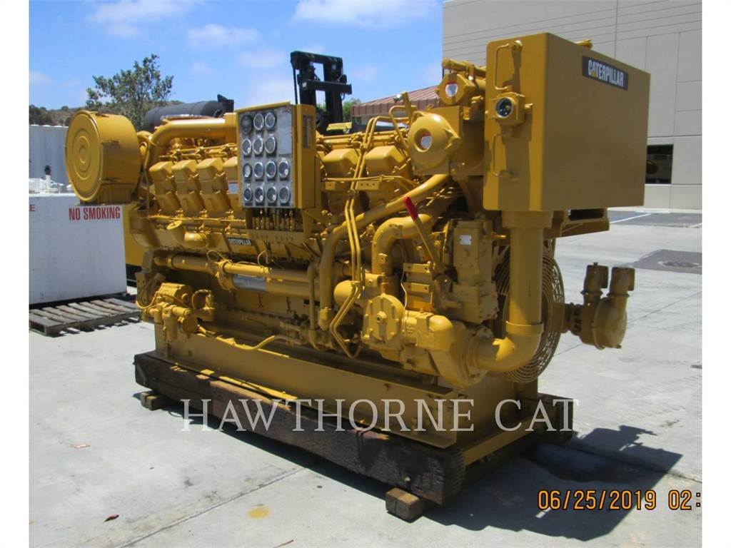 Caterpillar 3516 DITA, Marine Propulsion / Auxiliary Engines, Construction