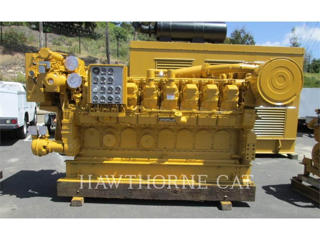 Caterpillar 3516 DITA, marino - auxiliar, Construcción
