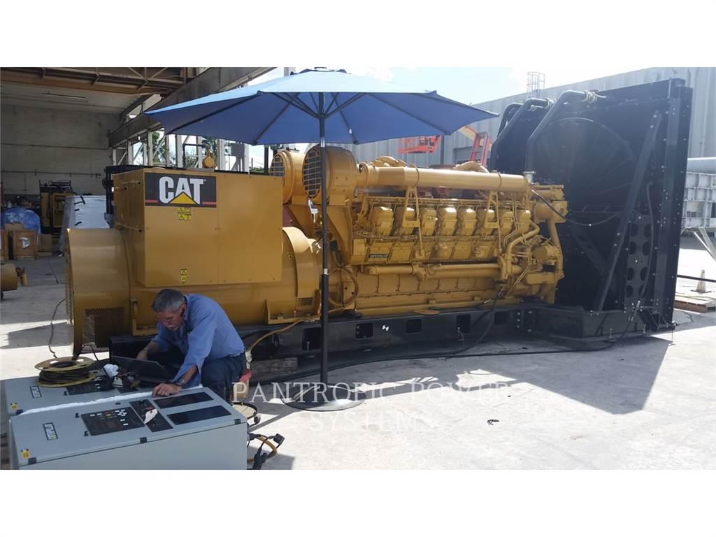 Caterpillar 3516B, Grupos electrógenos fijos, Construcción
