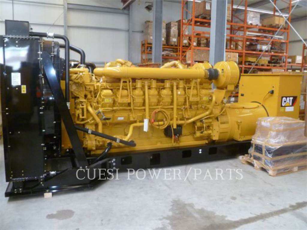 Caterpillar 3516B, Stationary Generator Sets, Construction