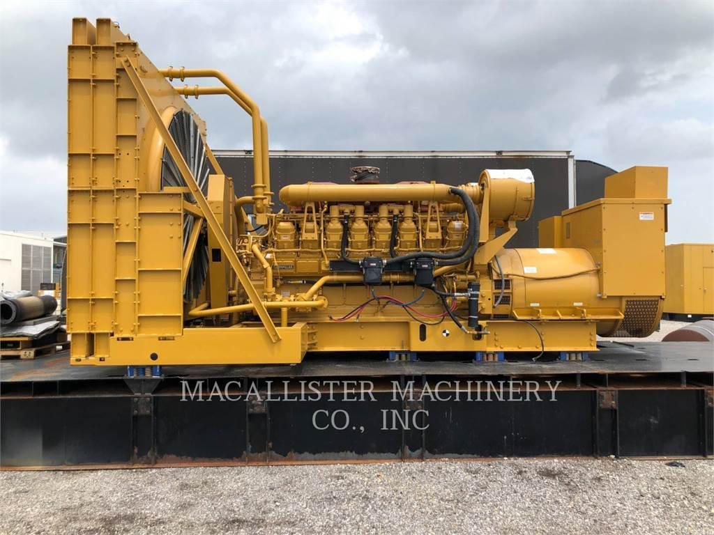 Caterpillar 3516B, Stationary Generator Sets, Construction