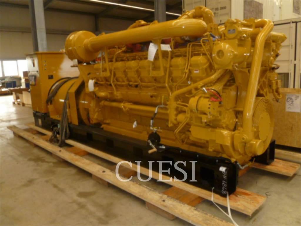 Caterpillar 3516B HD、固定式発電機セット、建設