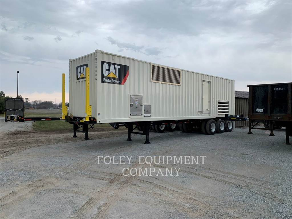 Caterpillar 3516BEP, Stationary Generator Sets, Construction