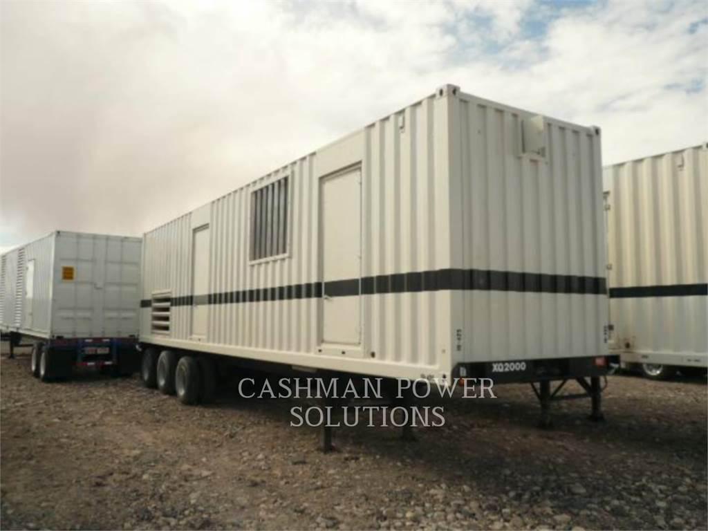 Caterpillar 3516C, mobile generator sets, Construction