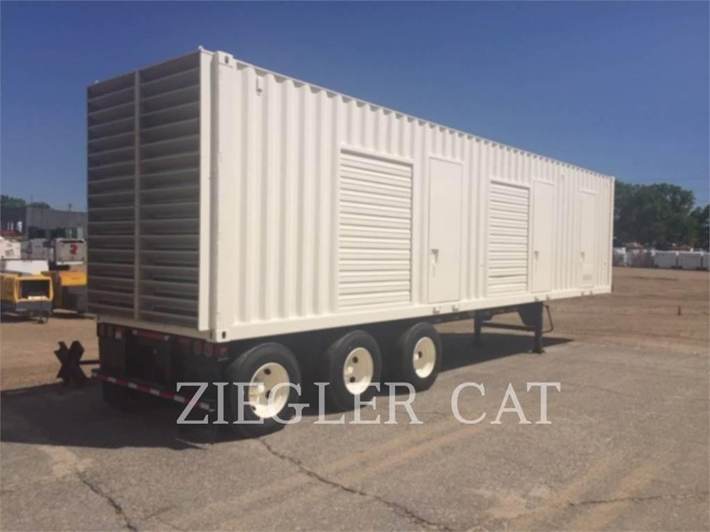 Caterpillar 3516HV, Stationary Generator Sets, Construction