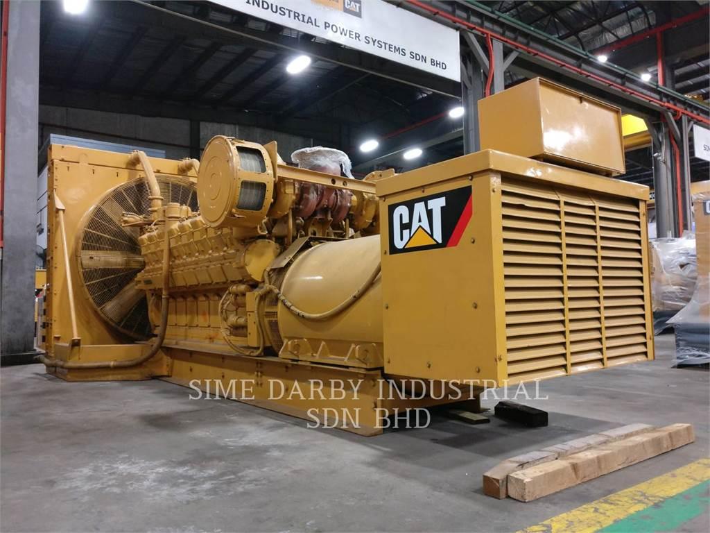 Caterpillar 3516TA、産業用エンジン、建設