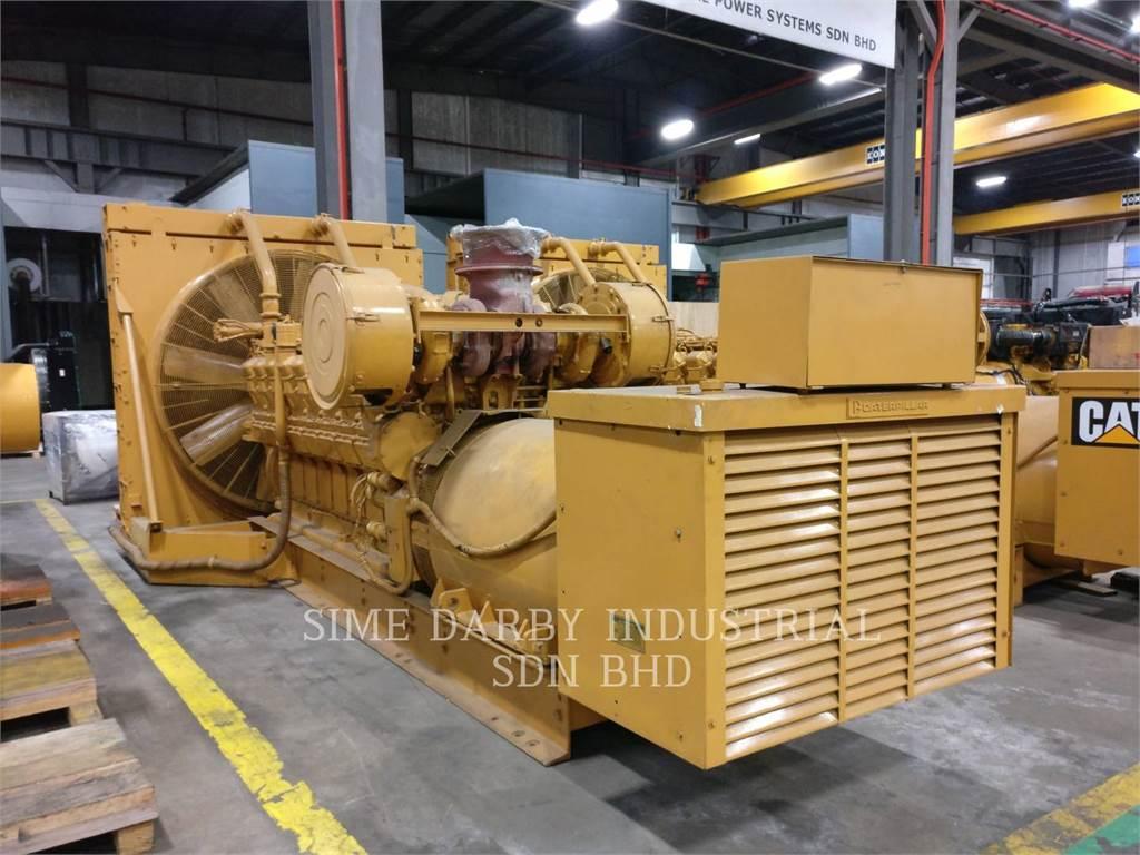 Caterpillar 3516TA, Industrial engines, Construction