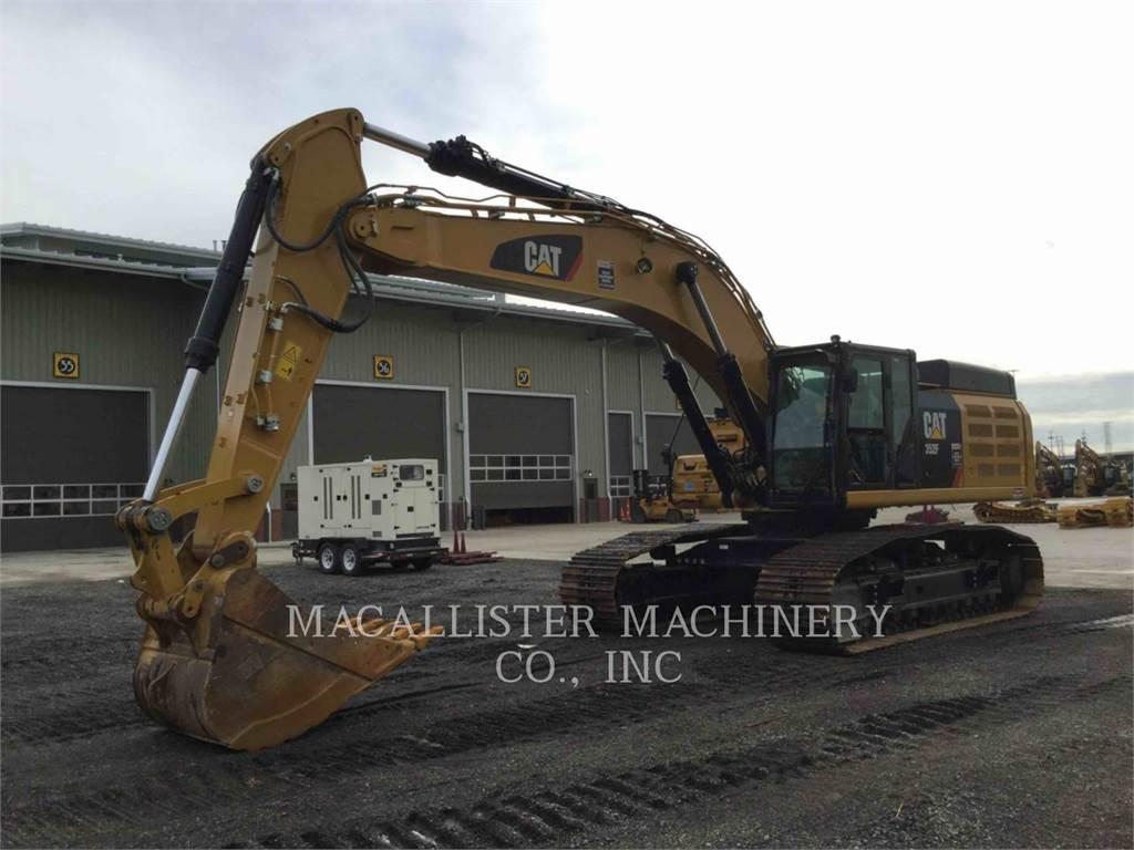 Caterpillar 352F, Crawler Excavators, Construction