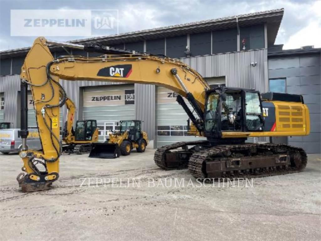 Caterpillar 352FL, Crawler Excavators, Construction