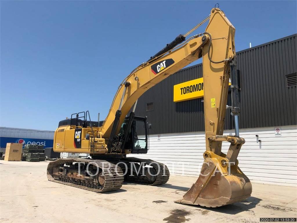 Caterpillar 352FL, Escavadoras de rastos, Equipamentos Construção