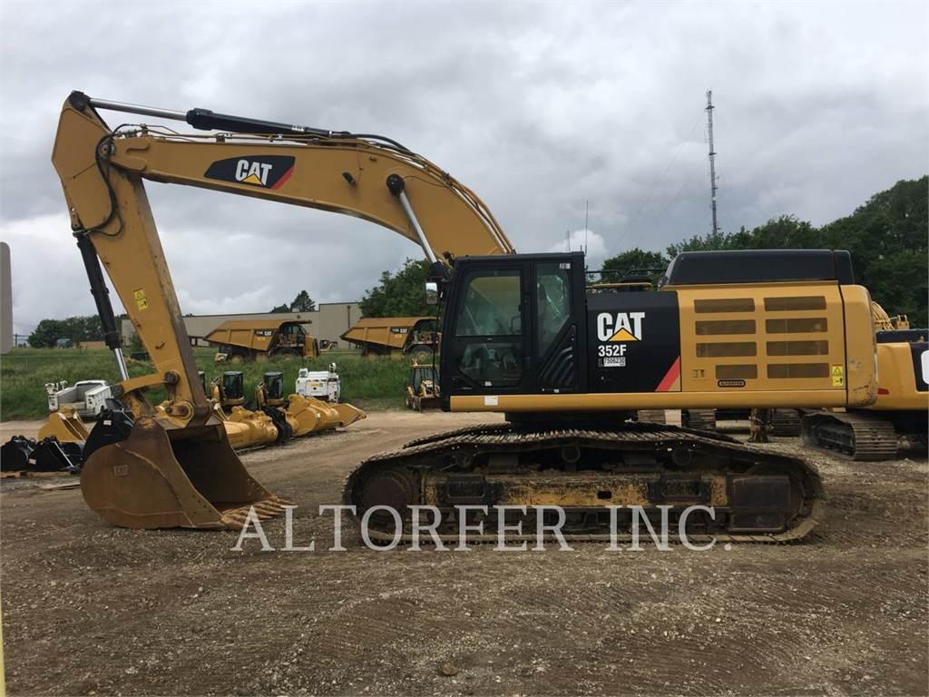 Caterpillar 352FVG、クローラー式油圧ショベル(パワーショベル・ユンボ)、建設