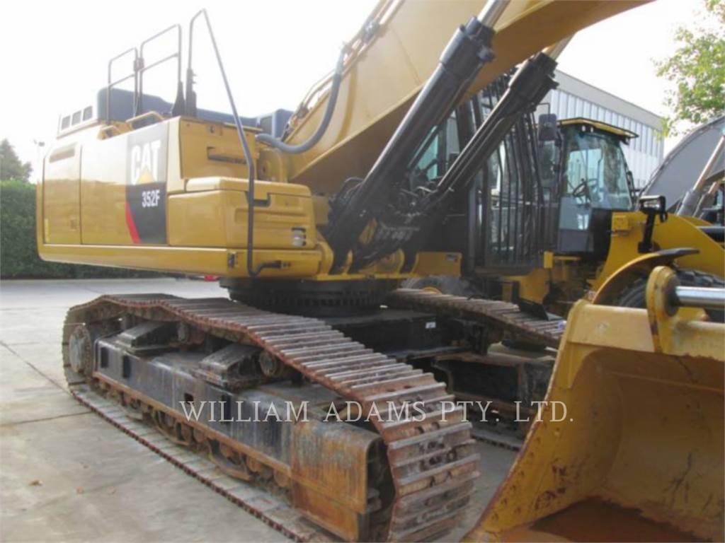 Caterpillar 352FVG, Rupsgraafmachines, Bouw