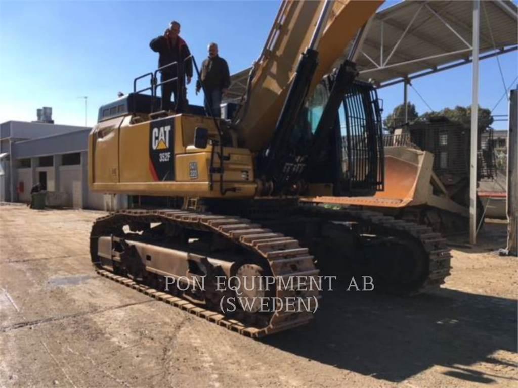 Caterpillar 352FVG, Excavatoare pe senile, Constructii