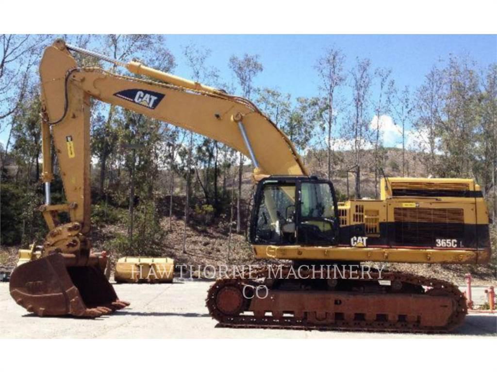 Caterpillar 365CL, Excavadoras de cadenas, Construcción