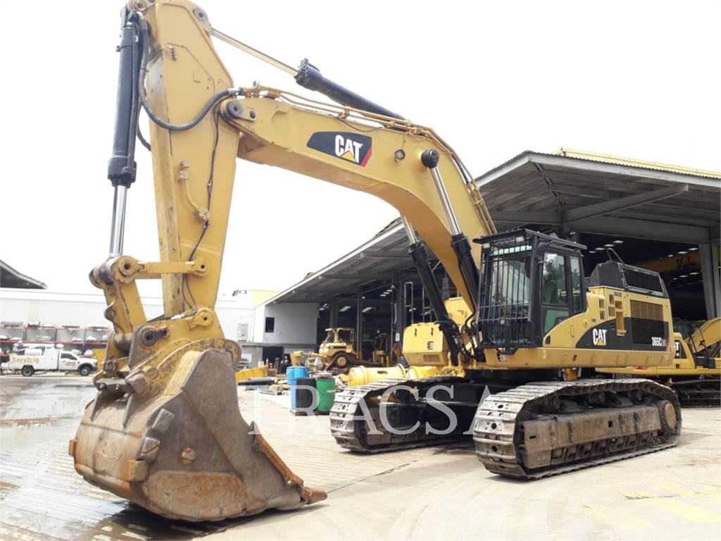 Caterpillar 365CL, Crawler Excavators, Construction