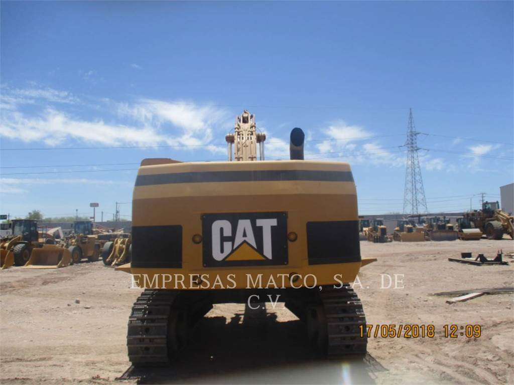 Caterpillar 365CL, Rupsgraafmachines, Bouw
