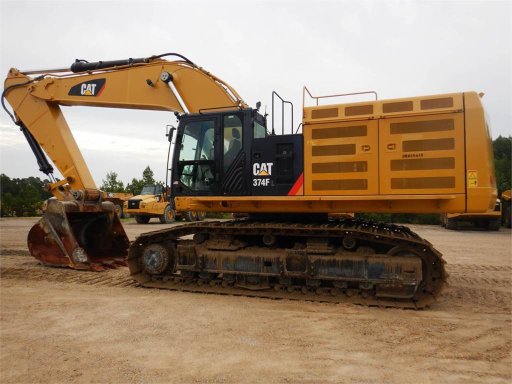 Caterpillar 374 F L, Crawler Excavators, Construction