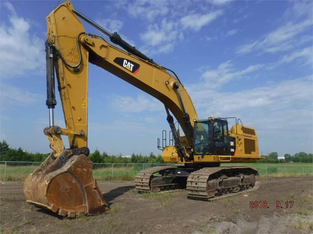 Caterpillar 374DL、クローラー式油圧ショベル(パワーショベル・ユンボ)、建設