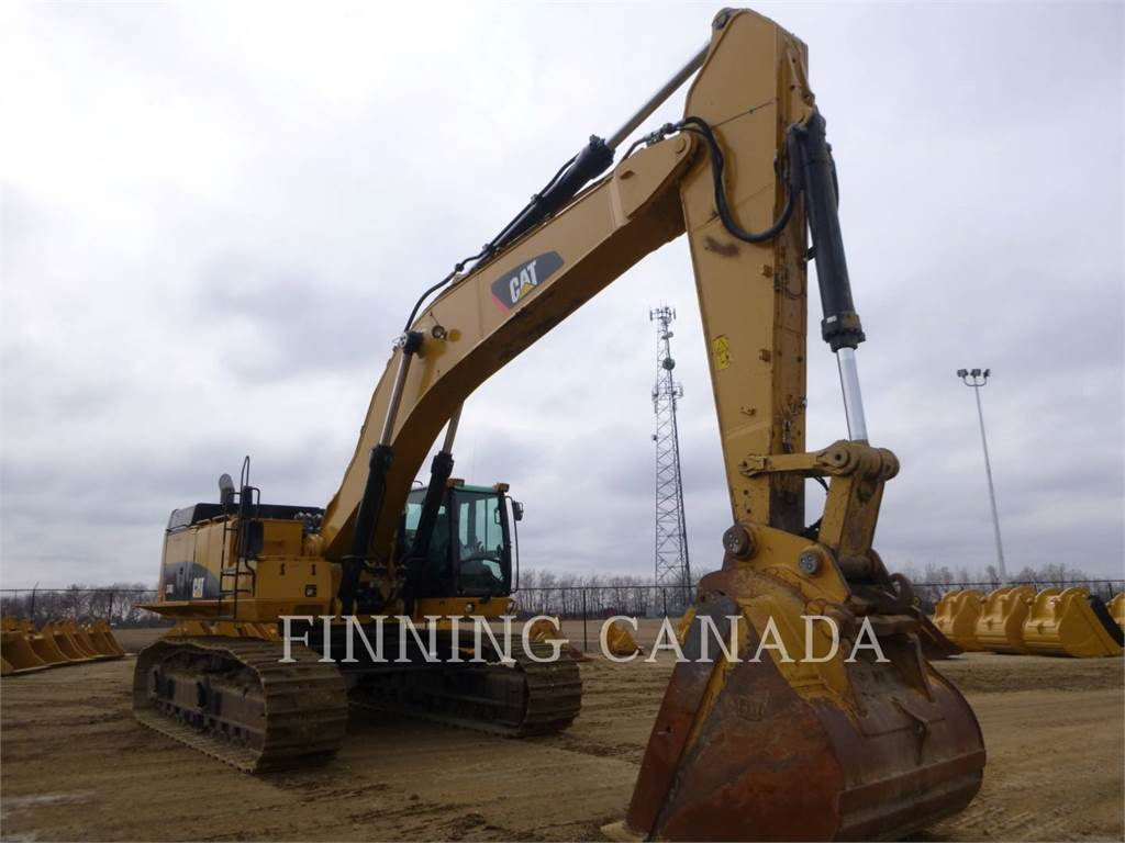 Caterpillar 374DL, Crawler Excavators, Construction