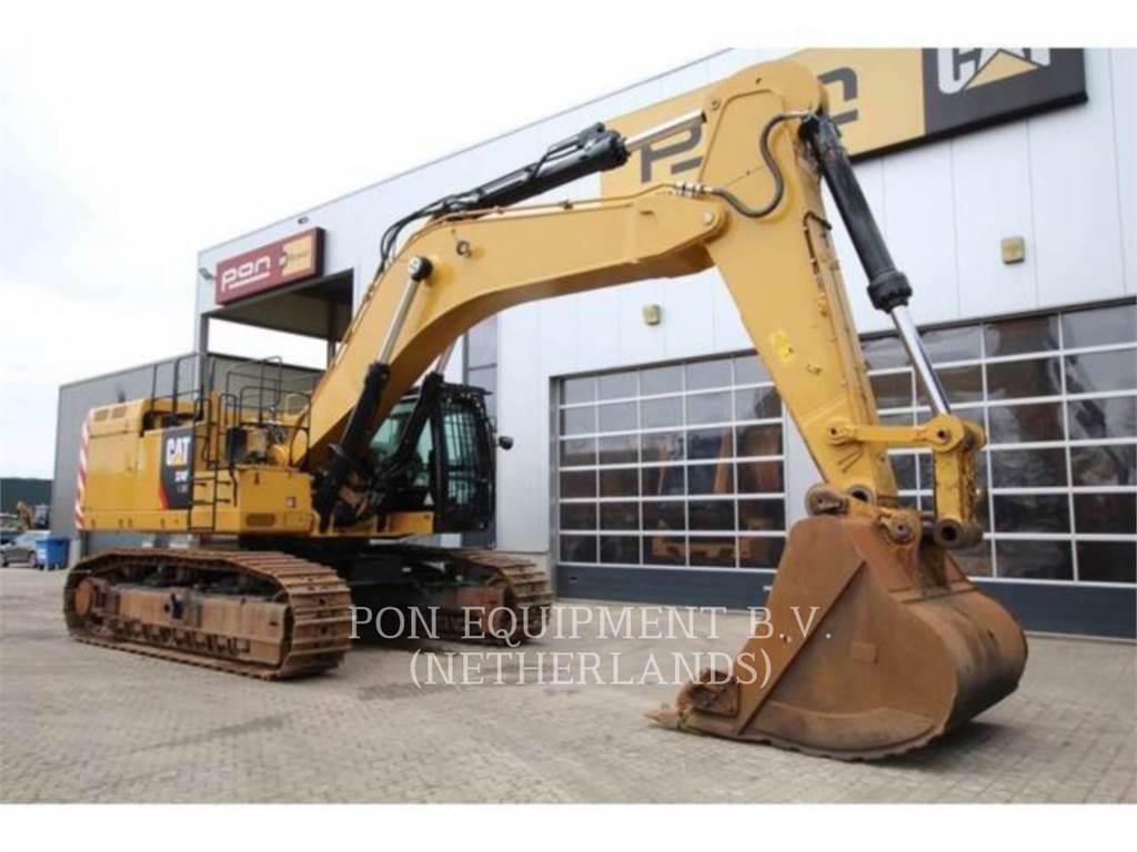 Caterpillar 374F LME, Excavatoare pe senile, Constructii