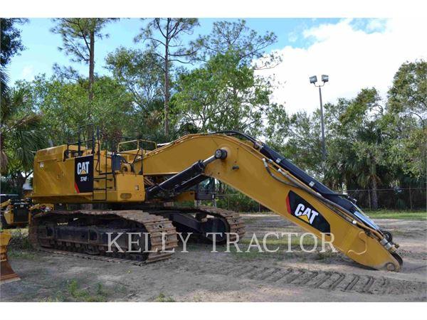 Caterpillar 374FL、クローラー式油圧ショベル(パワーショベル・ユンボ)、建設