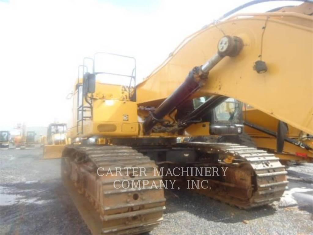 Caterpillar 374FL, Excavadoras de cadenas, Construcción