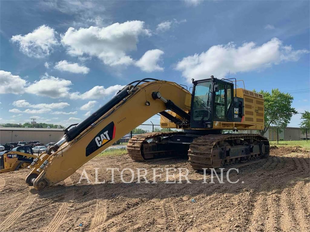 Caterpillar 374FL, Raupenbagger, Bau-Und Bergbauausrüstung