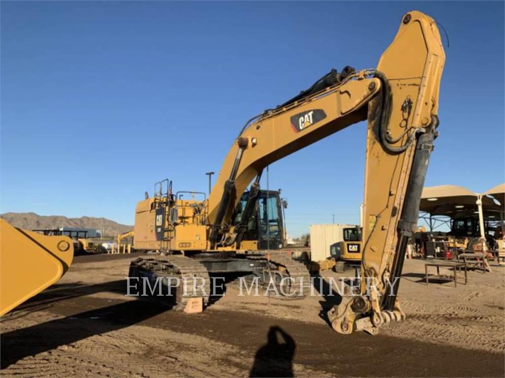 Caterpillar 374FL、大型油圧ショベル12t以上(パワーショベル・ユンボ)、建設