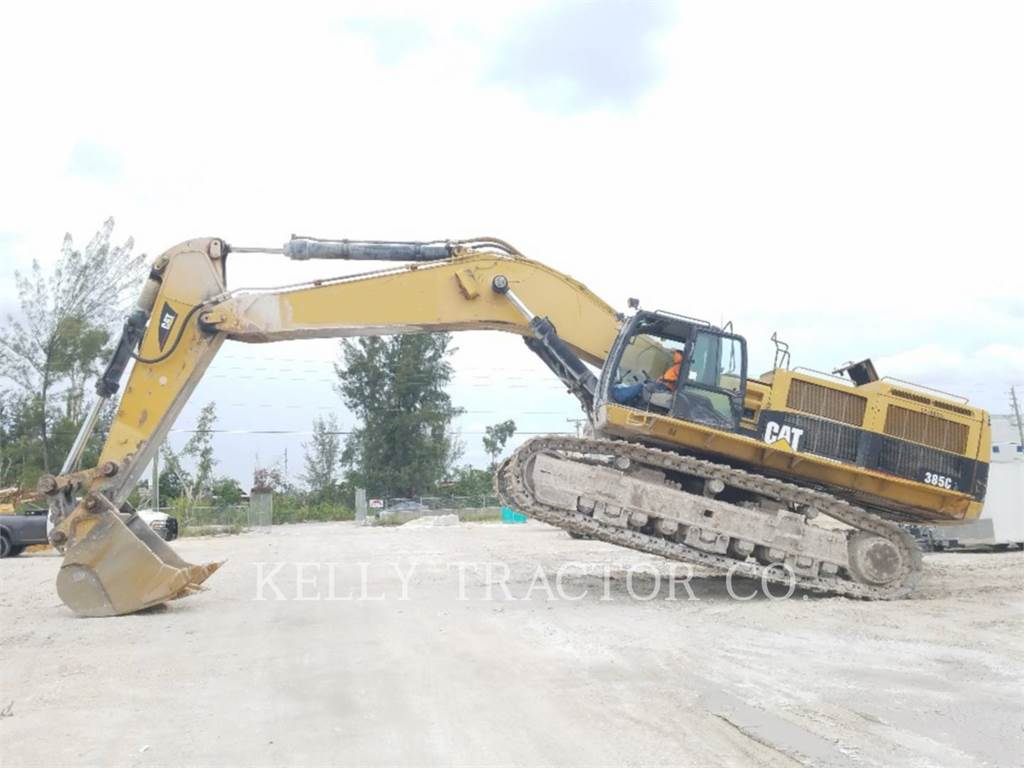 Caterpillar 385CL, Crawler Excavators, Construction