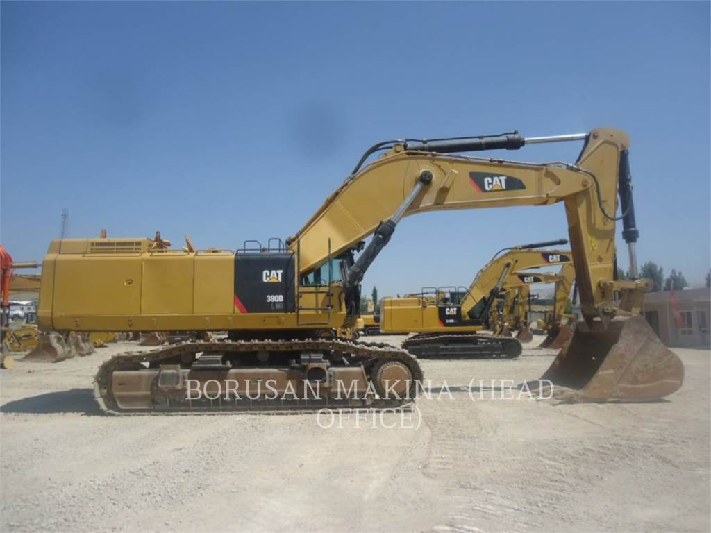 Caterpillar 390DL, Crawler Excavators, Construction