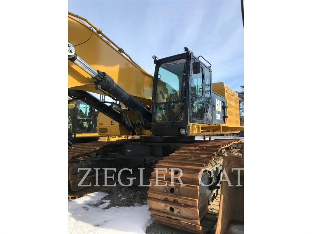 Caterpillar 390F, Crawler Excavators, Construction