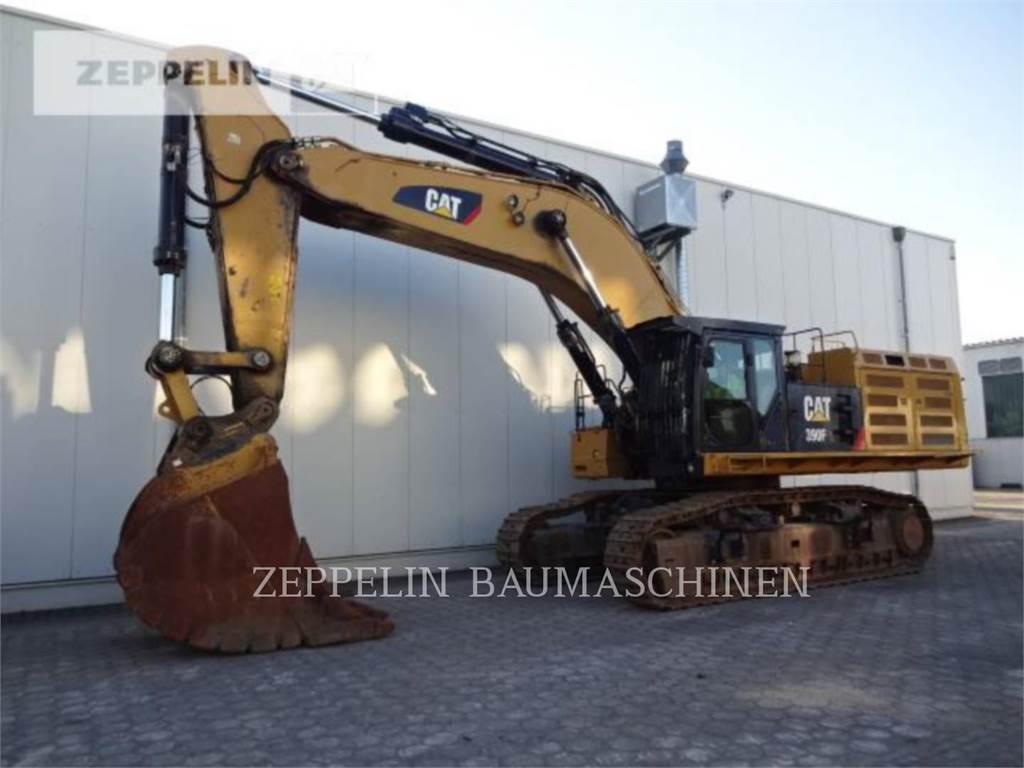 Caterpillar 390FDCA、履带挖掘机、建筑设备