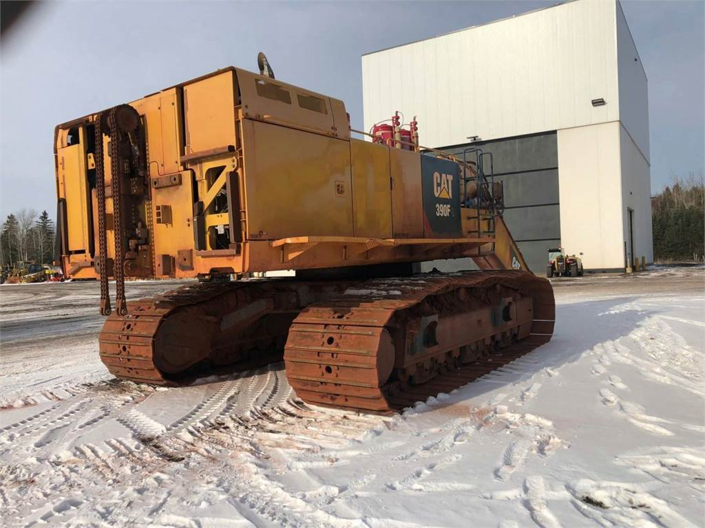 Caterpillar 390FL, Crawler Excavators, Construction