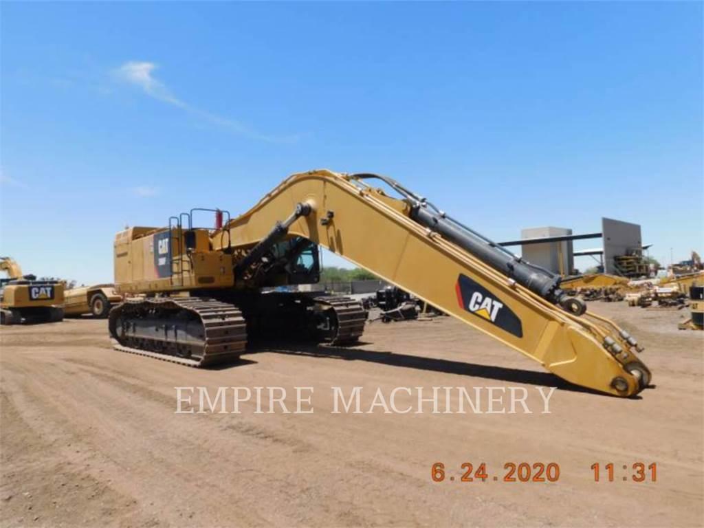 Caterpillar 390FL, Excavatoare pe senile, Constructii